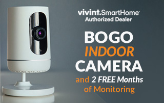 BOGO Indoor Camera and 2 FREE Months of Monitoring!