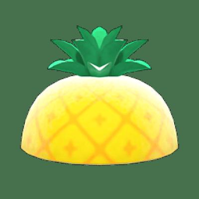 パイナップル あつ森 マイデザイン
