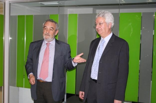 Don Carlos Escalada (Socio Director Urban Lab Madrid) y Don Augusto de Araújo (Presidente Urban Lab Madrid)