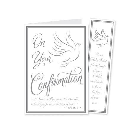 Aid to the Church in Need & Confirmation card