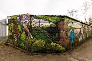 Art work by Graffiti Artist Hoakser