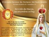 IV Jornada Mariana 2017 Grupo de Oração