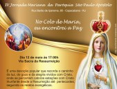 IV Jornada Mariana 2017 Via Lucis