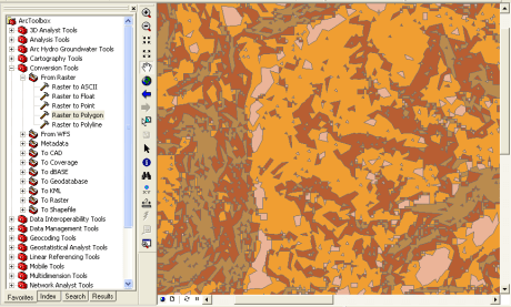 Simplifying polygons in Arcmap