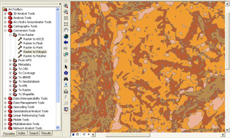 Simplifying polygons in Arcmap