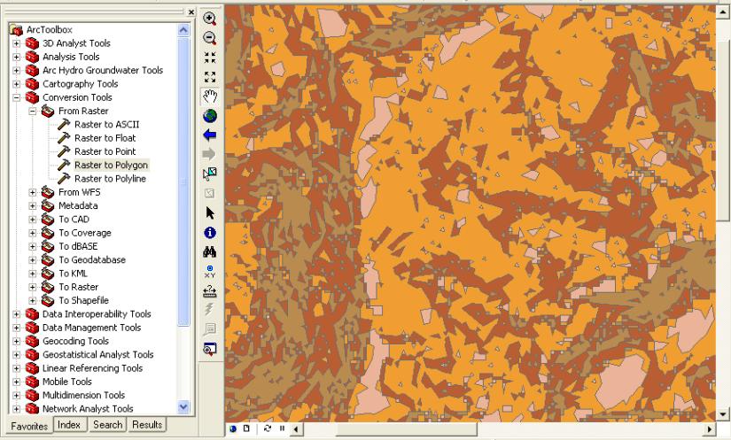 Simplificar polígonos en Arcmap