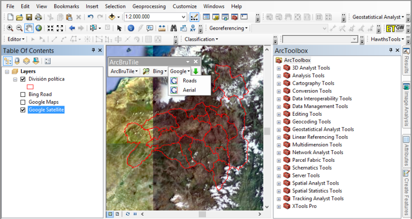 Sincronizar ArcGIS con Google Earth