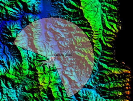 Cuenca visual Global Mapper