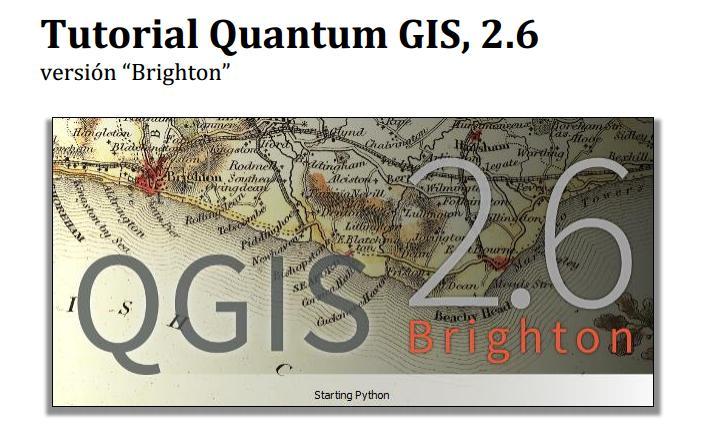 Tutorial QGIS 2.6