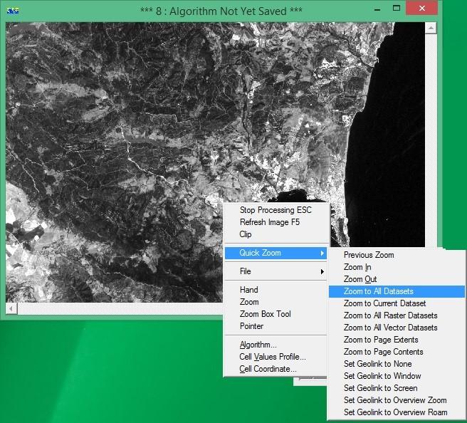 ER Mapper Zoom Datasets