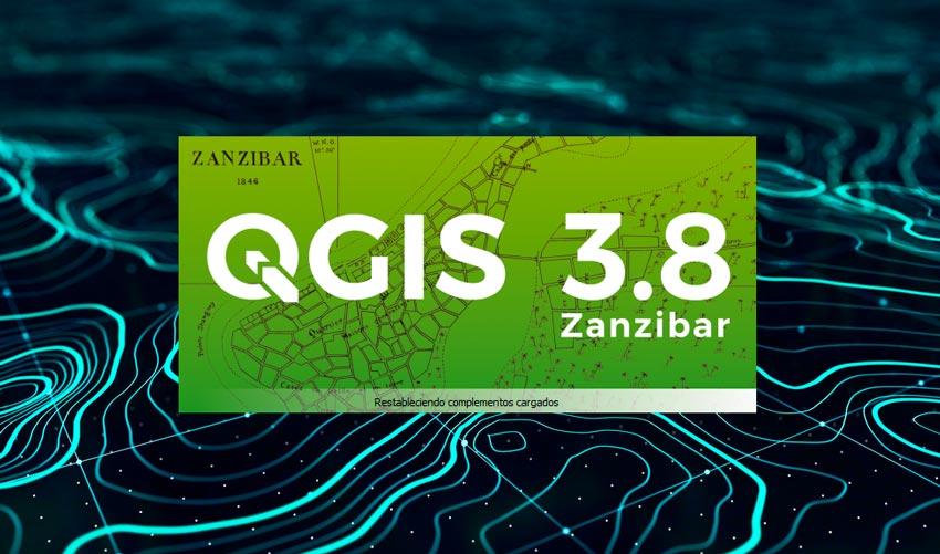 Descargar QGIS 3.8