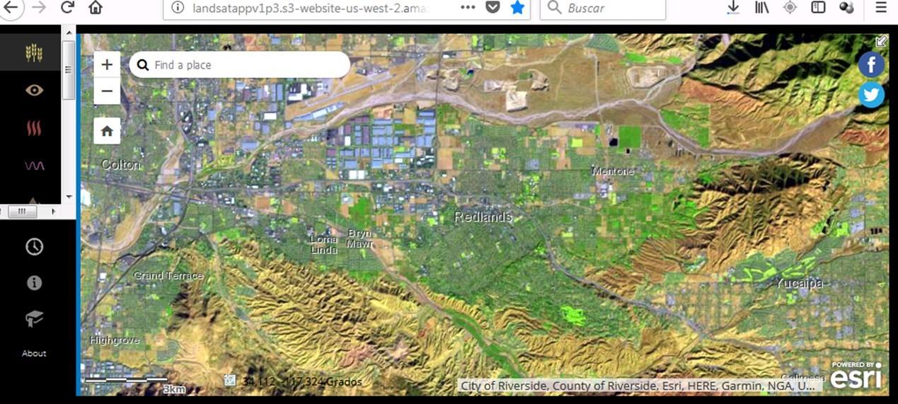 Amazon AWS para Landsat