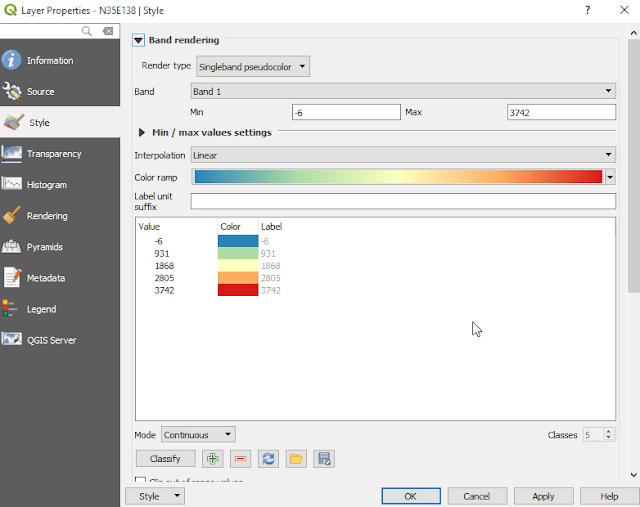 Cambiar estilos en QGIS