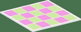 Patrón del tablero de ajedrez Autocorrelación espacial
