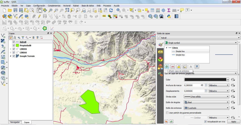 Creando un buffer dinámico en QGIS 3 | El blog de franz