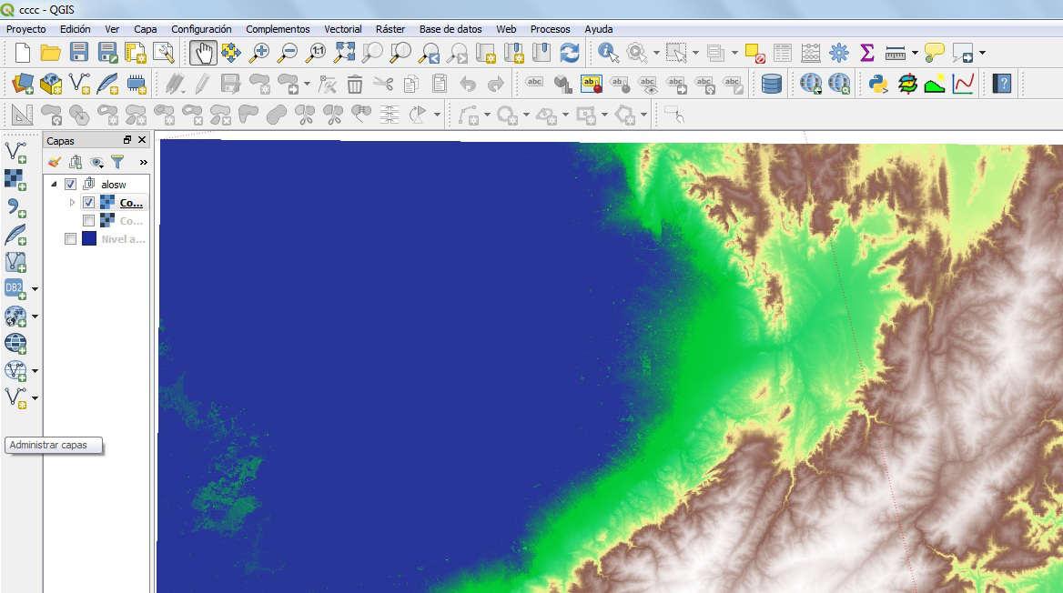 Modelo 3D inundación QGIS
