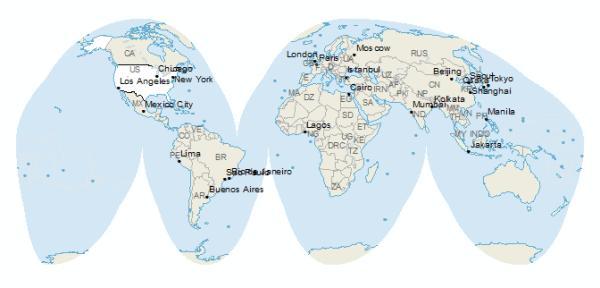 ¿Qué son las proyecciones de mapas, y por qué engañan al ojo humano?