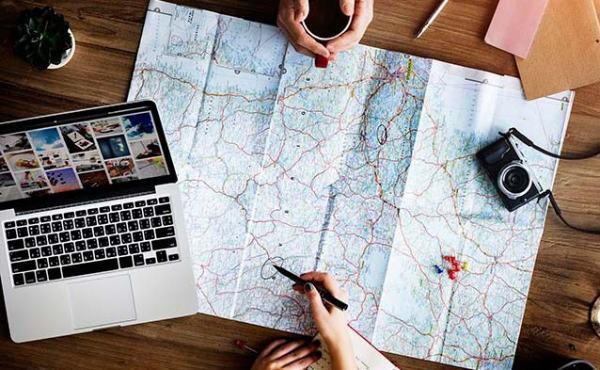Ventajas y desventajas de los mapas de papel