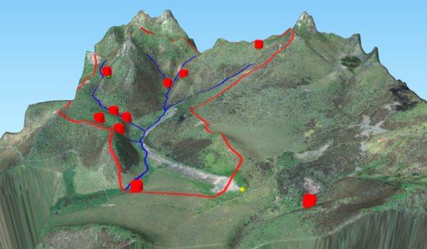 Visualización avanzada en 3D usando QGIS