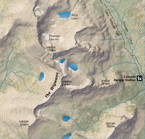 Mapa sombreado en relieve