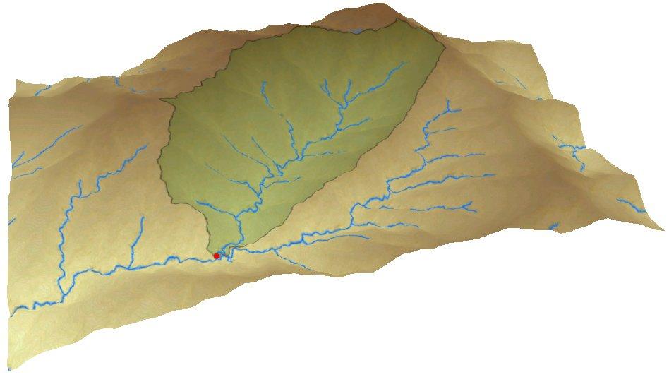 Cuenca hidrográfica en ArcGIS Pro
