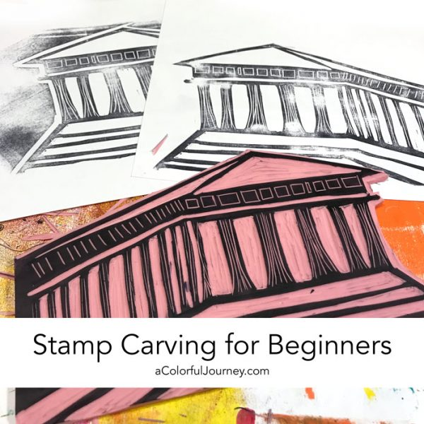stamp carving for beginners