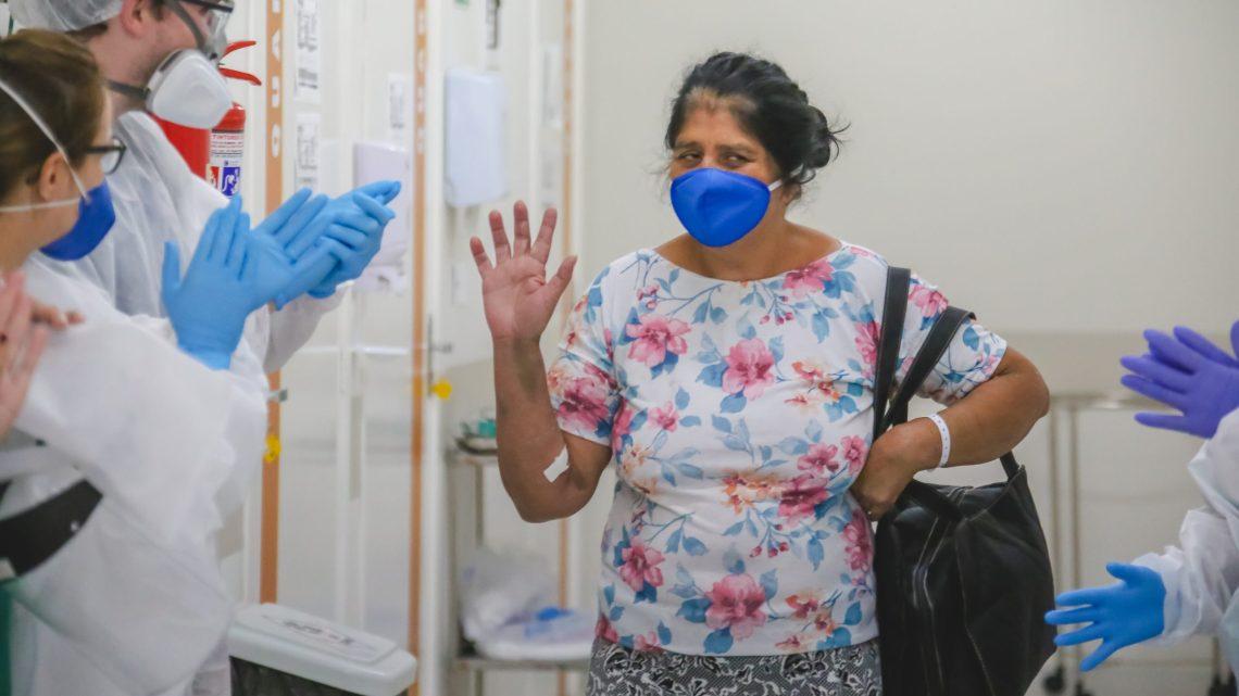 Cinco pacientes saem curados após internação no Centro de Tratamento ao Coronavirus de Santana de Parnaíba