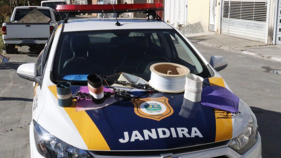 Operação Cerol é realizada em Jandira para apreender materiais cortantes