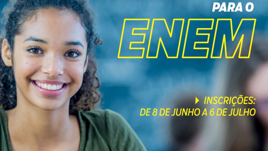 Aspirantes ao Enem poderão participar de semiextensivo remoto que começa em julho