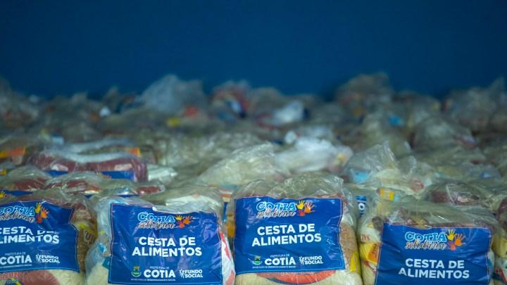 Comunicado: beneficiários não localizados devem contatar o FS para receber a cesta de alimentos