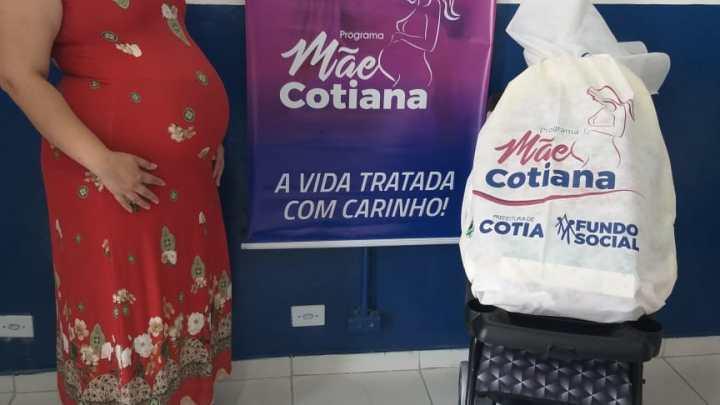 Programa Mãe Cotiana beneficia mais um grupo de gestantes da cidade