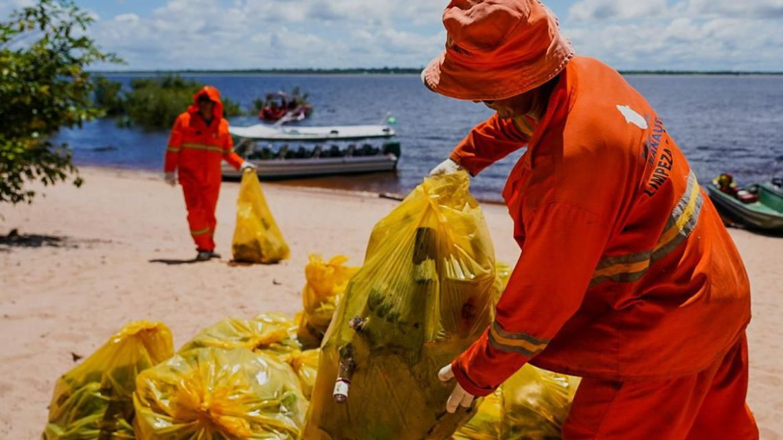 Plano de Combate ao Lixo no Mar retira 400 toneladas de residuos