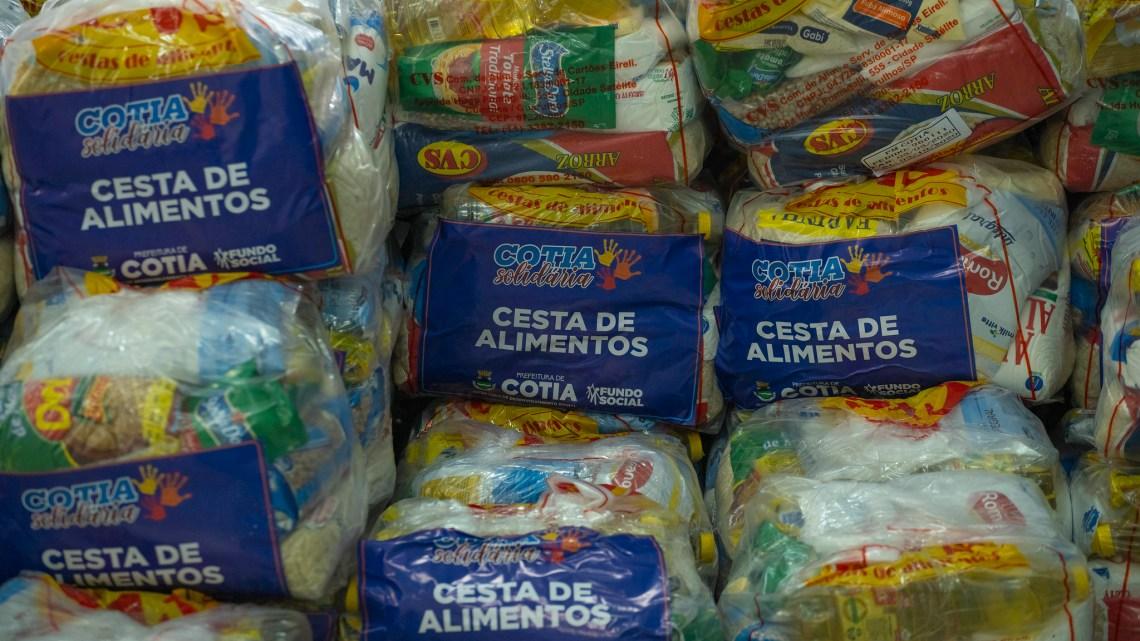 'Cotia Solidária' alcançou a marca de atendimento de mais de 11 mil famílias