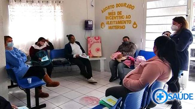 Secretaria de Saúde de Jandira, realiza ações do Agosto Dourado