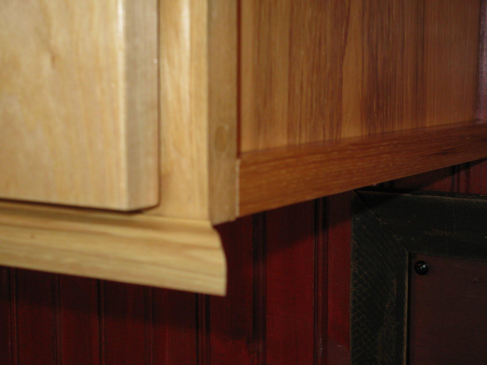 kitchen cabinet trim installation island vent for bottom of cabinets design ideas