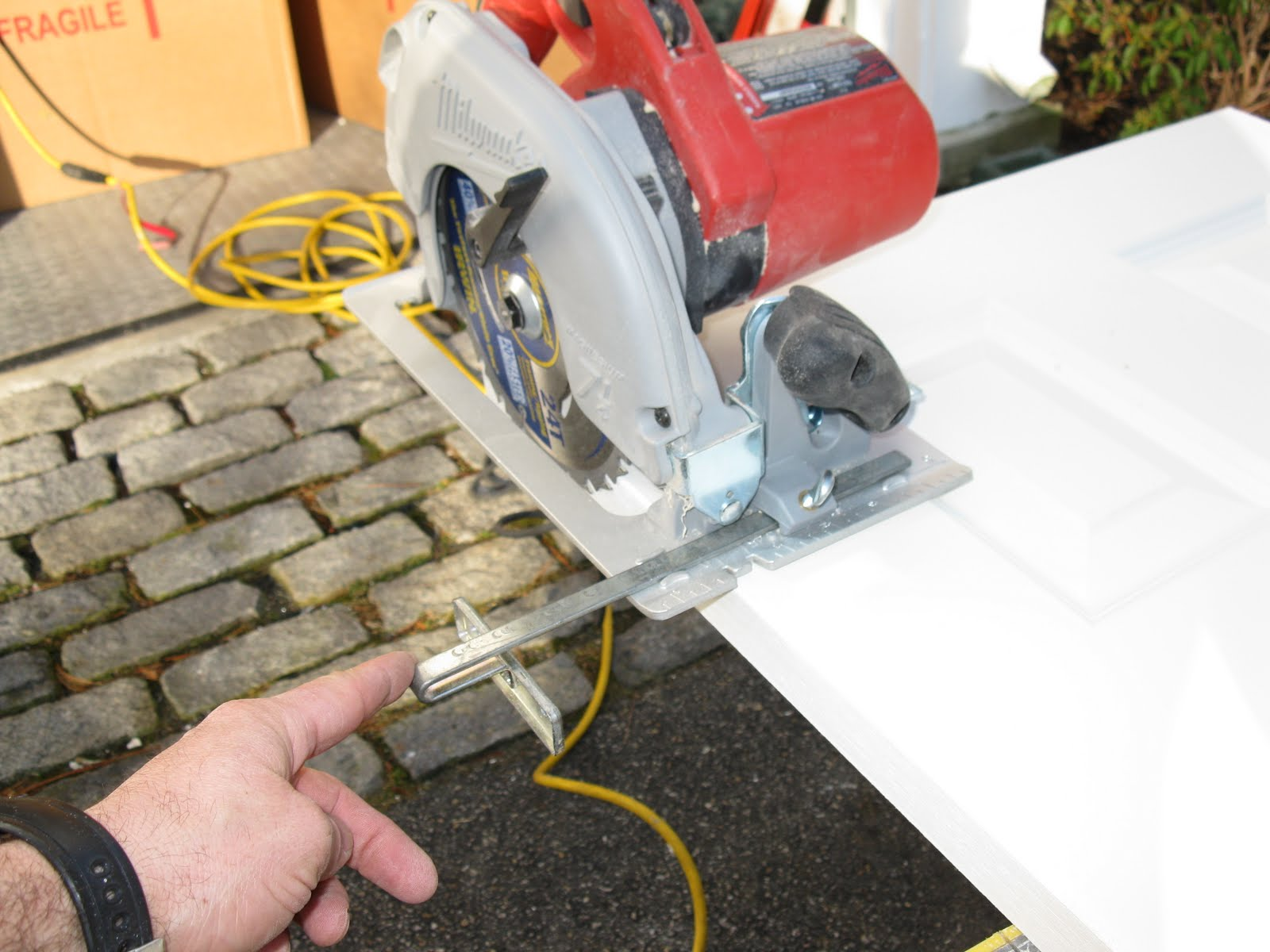 Adjustable Circular Saw