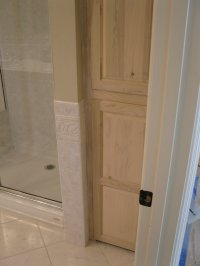 Custom Cabinet Door - A Concord Carpenter