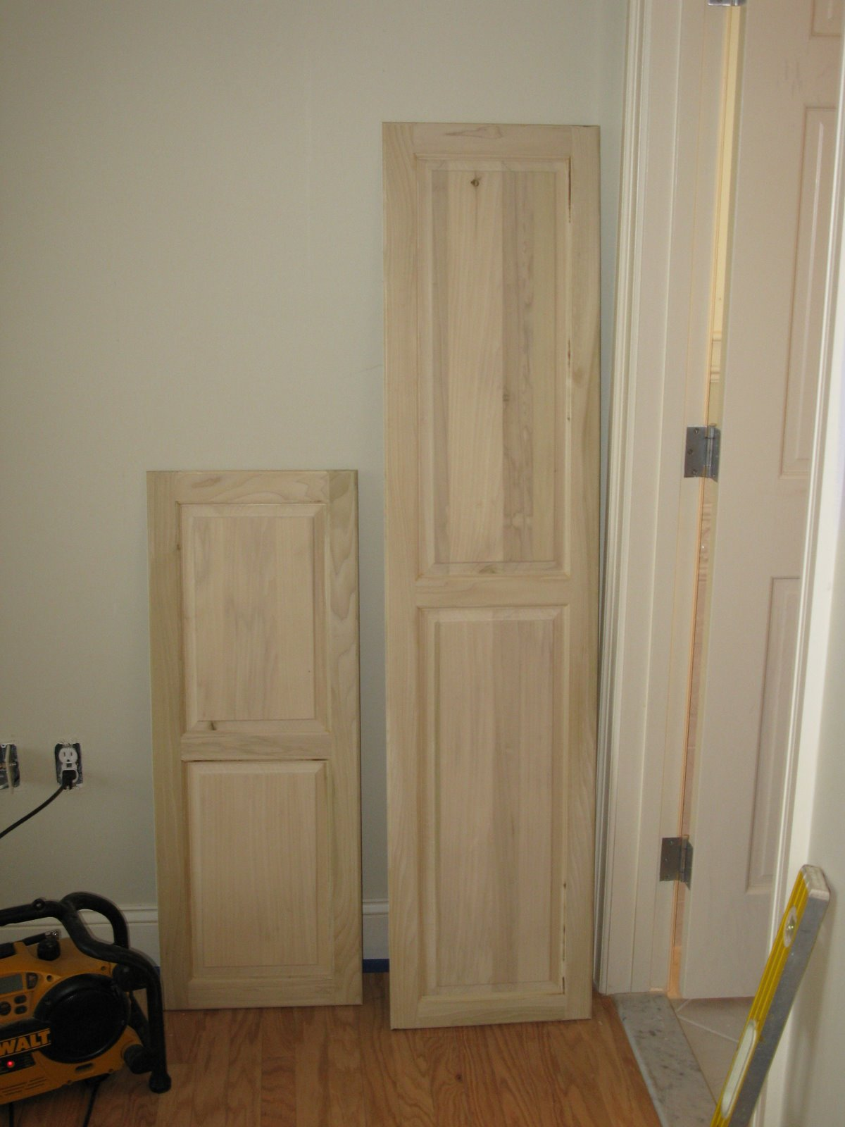 Custom Cabinet Door  A Concord Carpenter