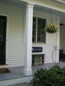 Replacing Wood Porch Post - Concord Carpenter