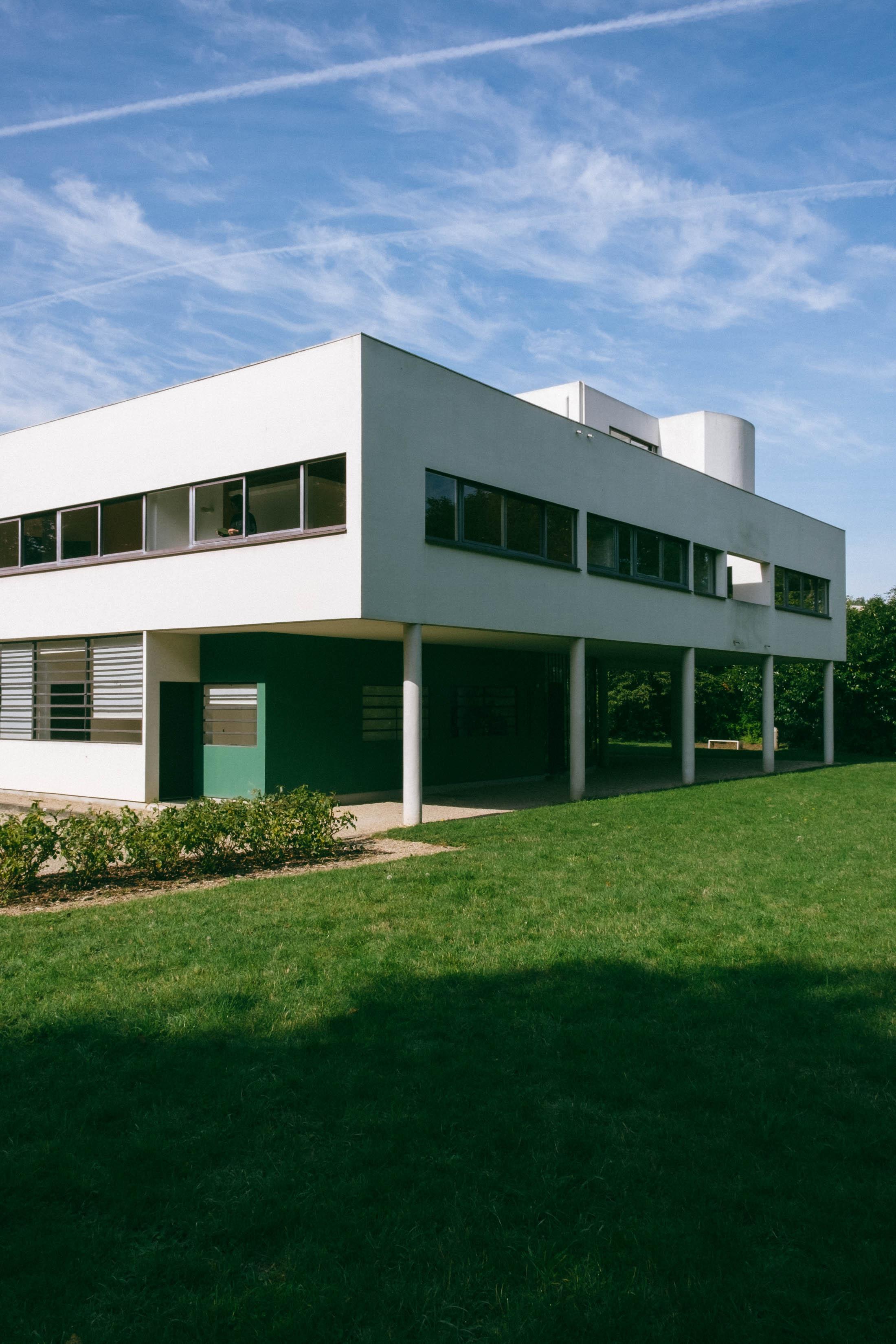 La Villa Savoye Le Corbusier : villa, savoye, corbusier, Corbusier's, Villa, Savoye, Constellation