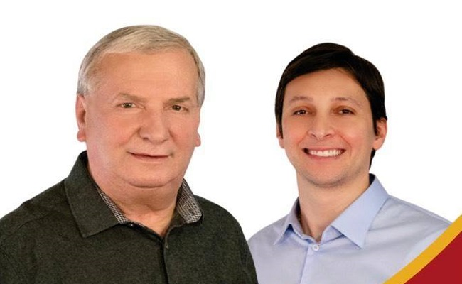Constantino Orsolin e Gilberto Cezar são reeleitos prefeito e vice de Canela