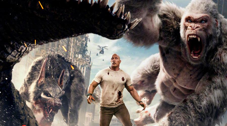 Rampage: Destruição Total estreia nos cinemas de Jundiaí