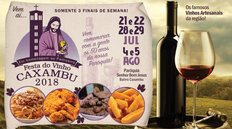 Festa do Caxambu e do Vinho Artesanal