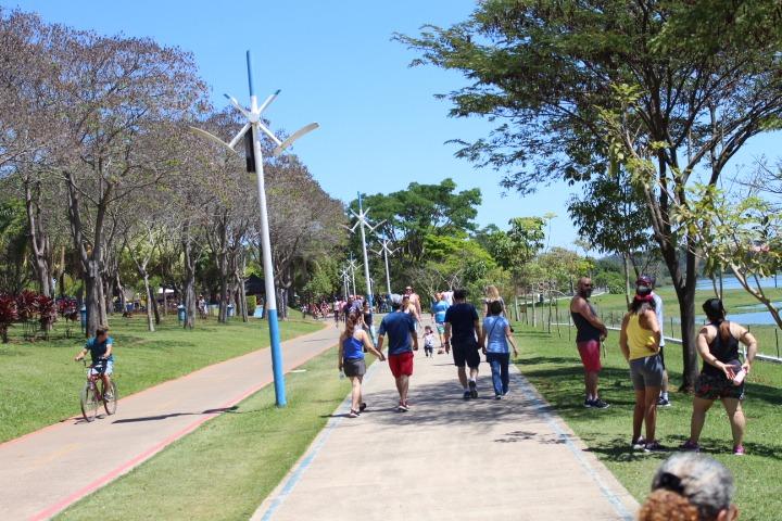 Parque da Cidade tem opções diversas para curtir o feriado