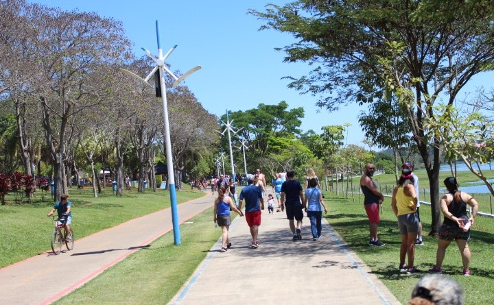 Aproveite os dias de folga para visitar o Parque da Cidade, que estará aberto todos os dias, das 6h30 às 20 horas (com entrada permitida até as 19 horas).