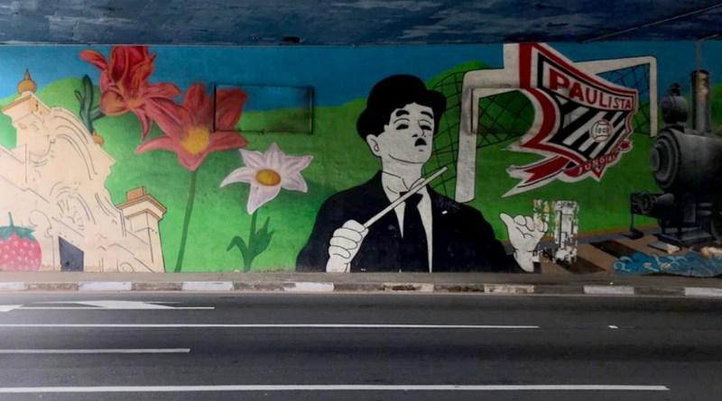 Pontilhão da Nove de Julho ganhará grafitagem de presente no aniversário de Jundiaí