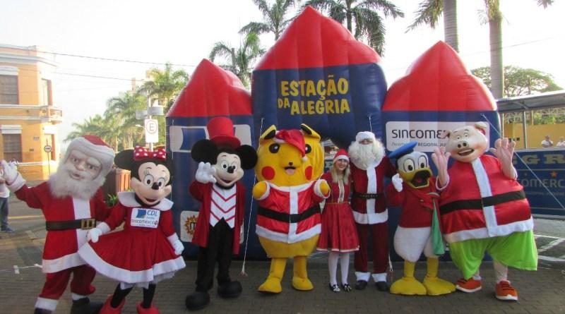 Parada Natalina em Jundiaí