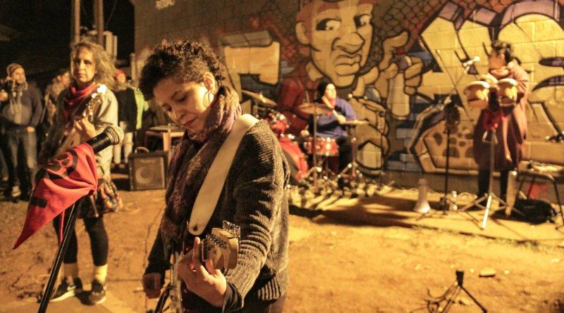 Banda Clandestinas se apresenta no Festival Delas 2019