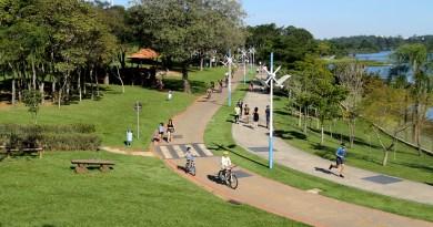 Aluguel de bicicletas no Parque da Cidade funciona todos os dias, no feriado de Corpus Christi