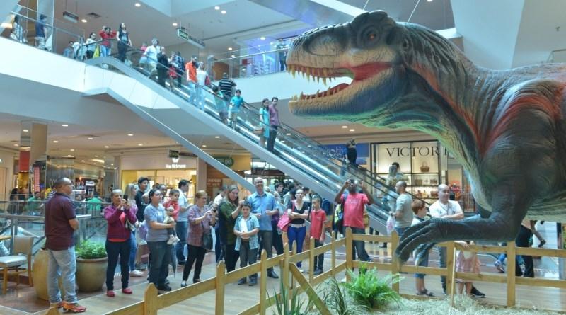 exposição Mundo Jurássico